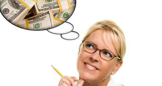 мысль о деньгах